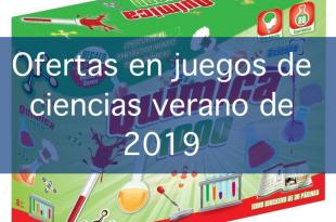 ofertas juegos de ciencias 2019